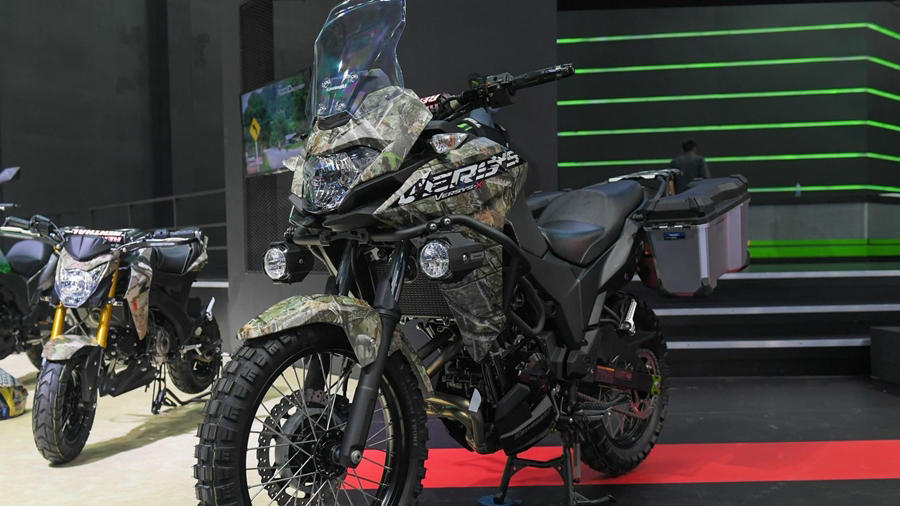 Kawasaki Versys 650 2017 >> Kawasaki Versys X 300 launched in India for Rs. 4.6 lakhs - Autopromag