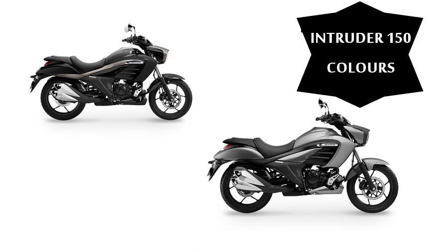 Suzuki Intruder 150 colours