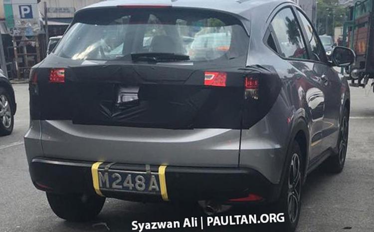 2019 Honda HRV facelift rear