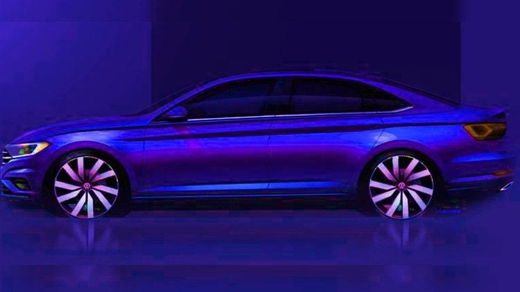 2019 Volkswagen Jetta blue