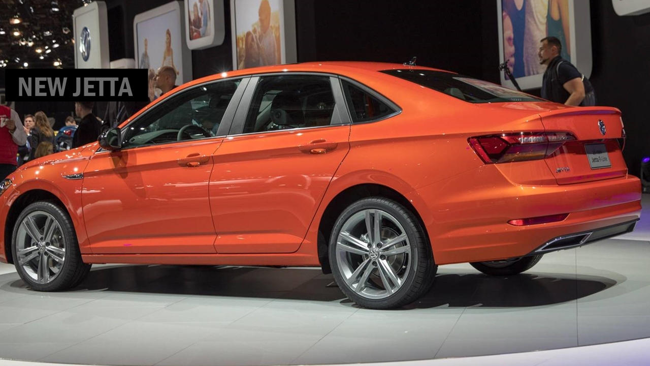2019 Volkswagen Jetta orange