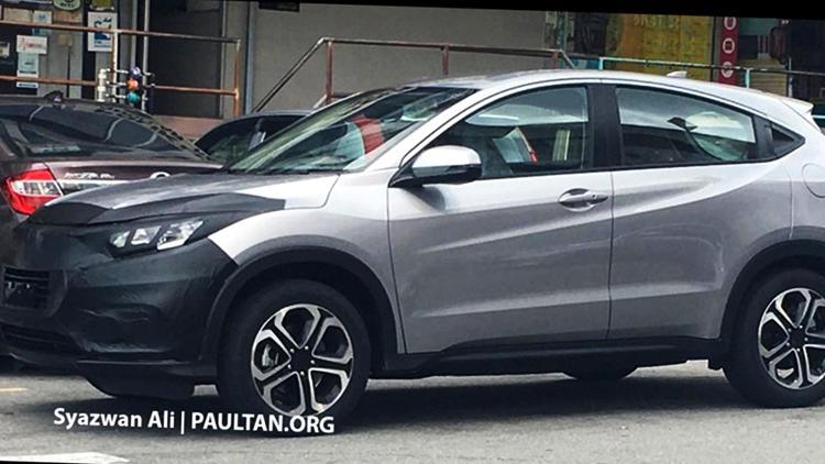 Honda HRV facelift 2019
