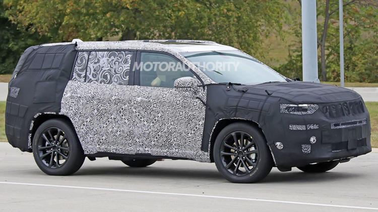 Jeep Grand Commander 7 Seat Spied Price Release Spec Autopromag