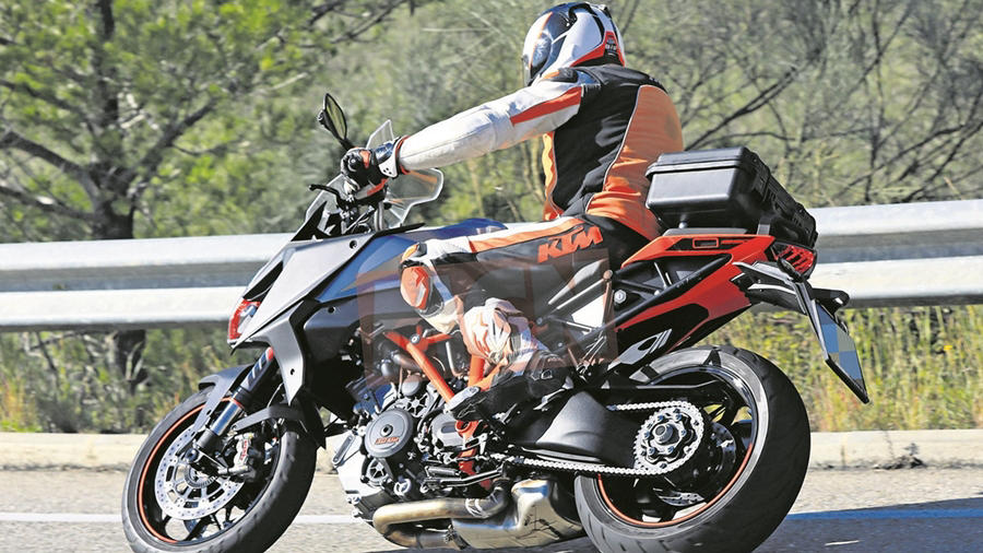KTM Super Duke GT tour 2019