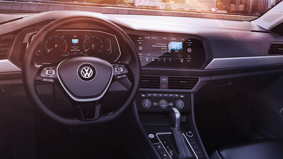 New Jetta interior