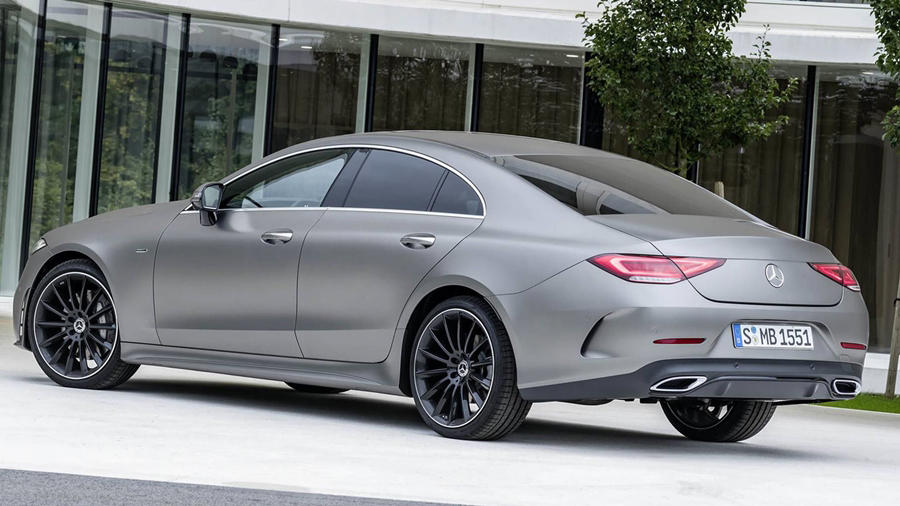 New Mercedes CLS45 grey