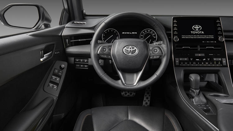 New Toyota Avalon interior