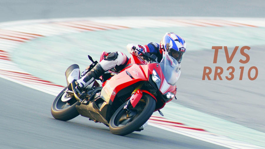 TVS Apache RR310 test ride