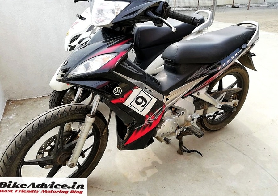 Yamaha Spark 135 spotted in India [Price, Launch]