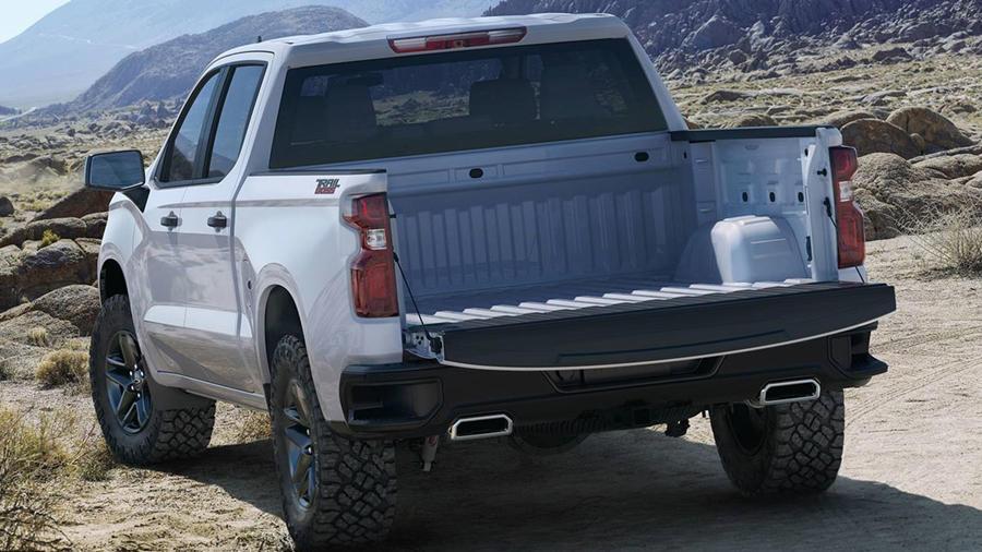 2019 Chevrolet Silverado bed