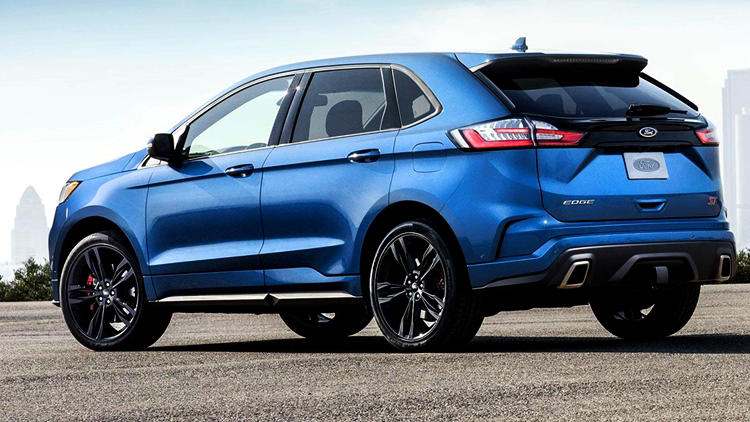 2019 Ford Edge ST rear