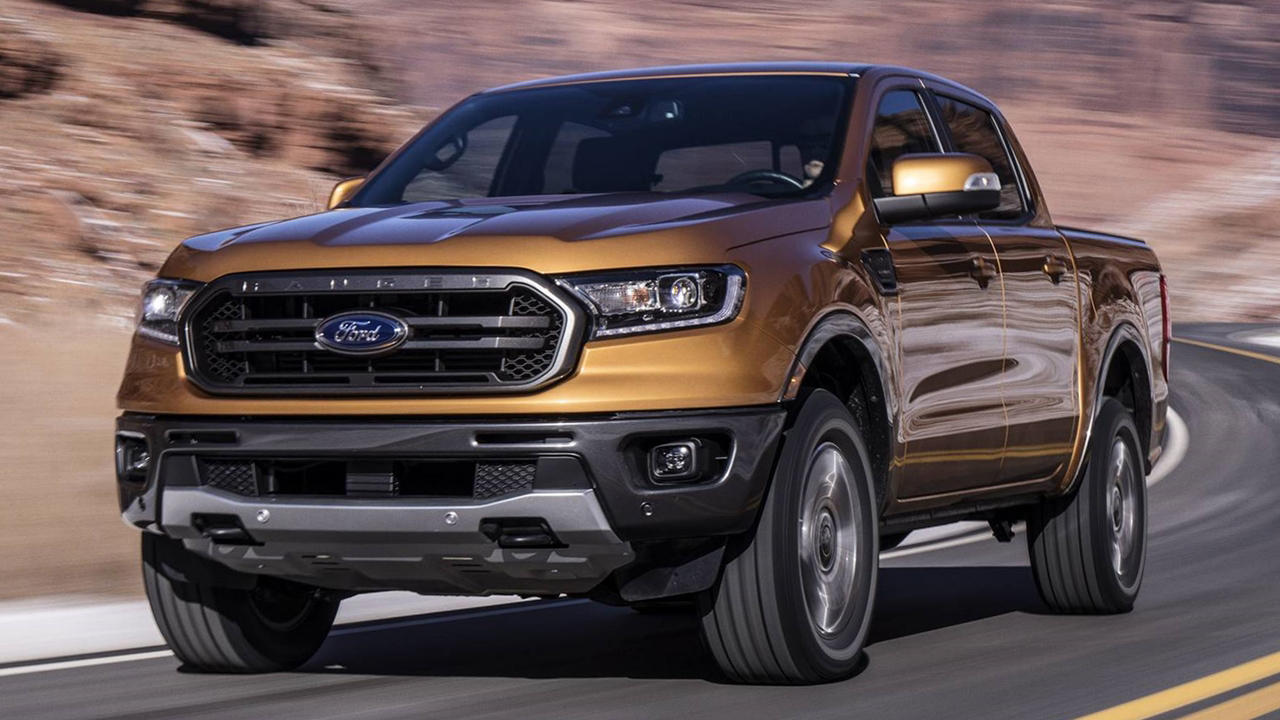 2019 Ford Ranger USA ride