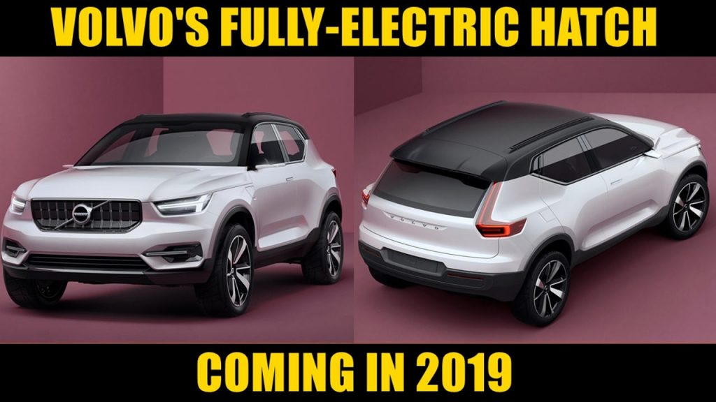 Volvo fully electric hatchback 2019