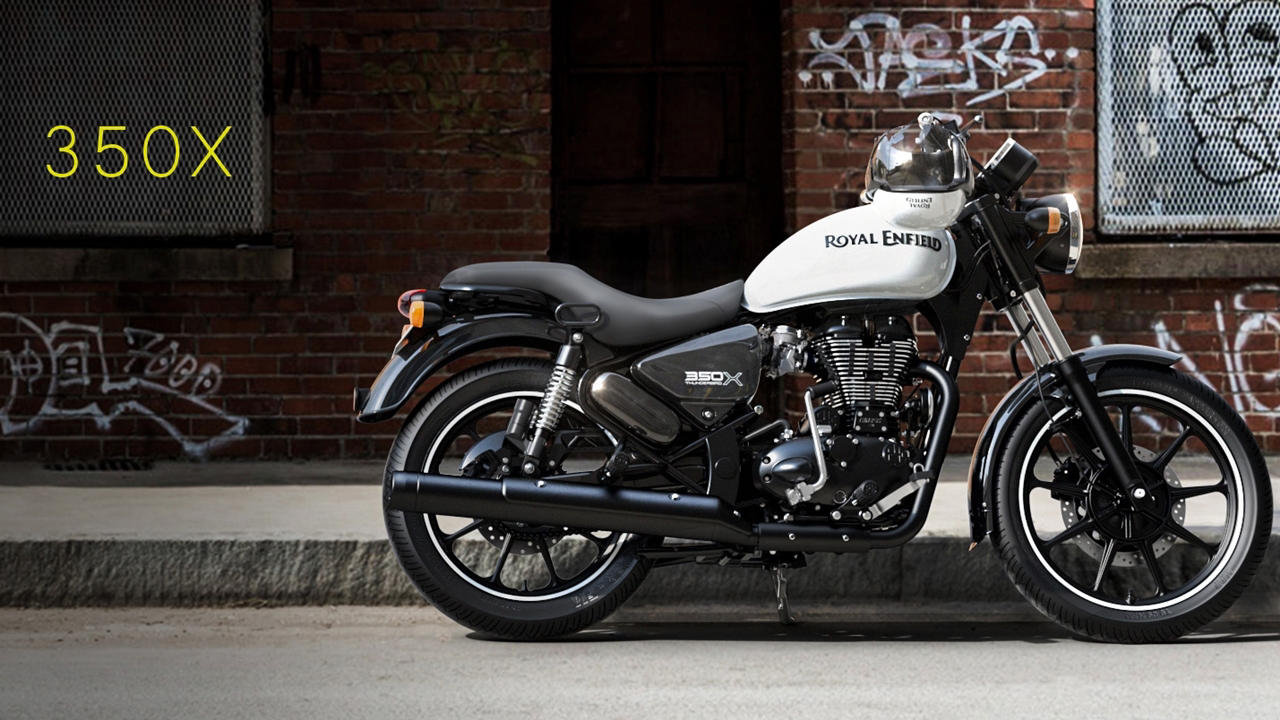 White Thunderbird 350X