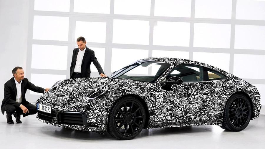 2019 Porsche 911 gen 992