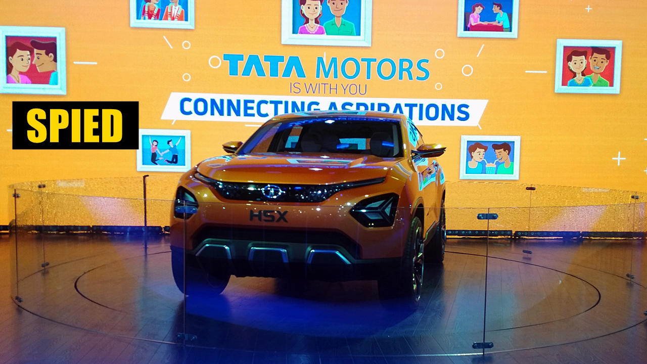 Production Tata H5X (Harrier) will be 80% true to the concept