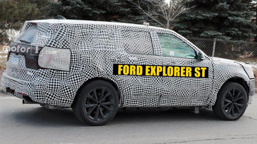 2019 Ford Explorer ST spied