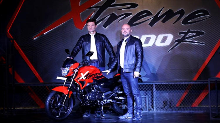 New Hero Xtreme 200R Auto Expo