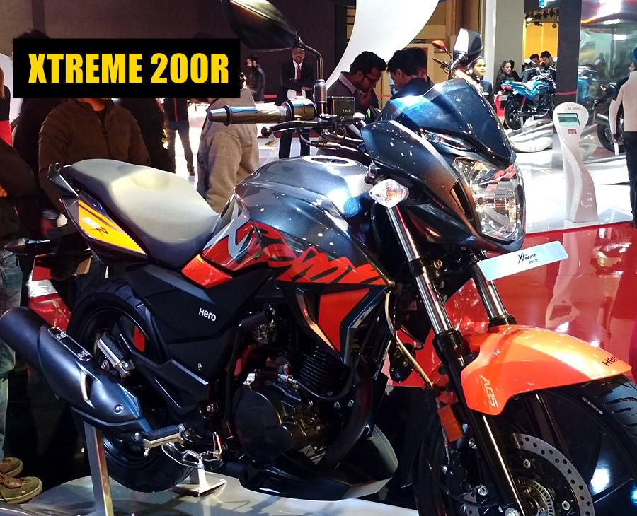 New Xtreme 200R grey red