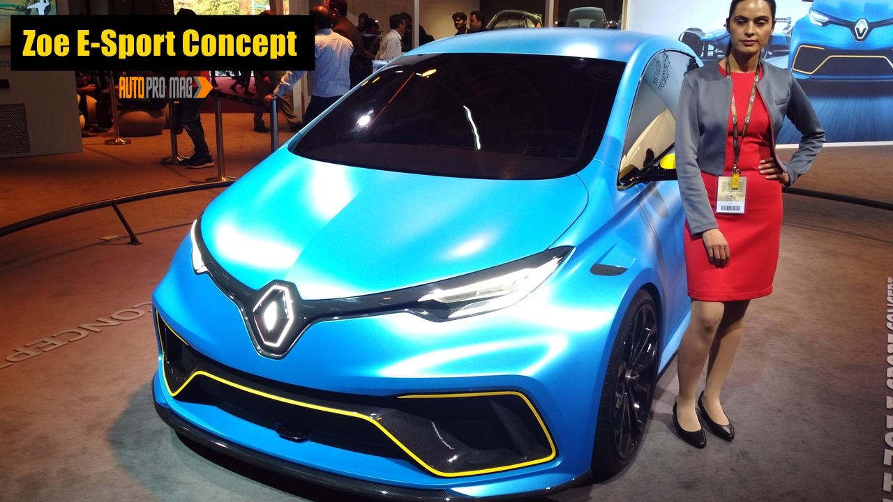 renault zoe zoe e sport concept revealed release autopromag. Black Bedroom Furniture Sets. Home Design Ideas