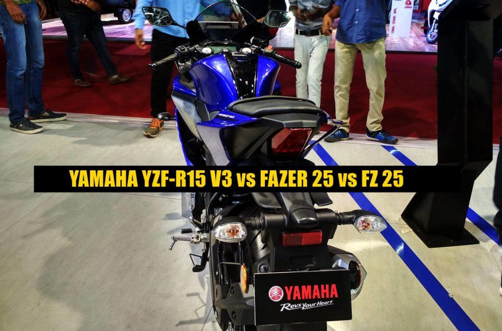 Yamaha R15 V3 vs competition comparison