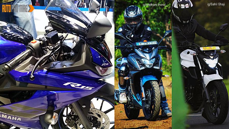 Yamaha YZF R15 V3 vs Fazer 25 vs FZ25