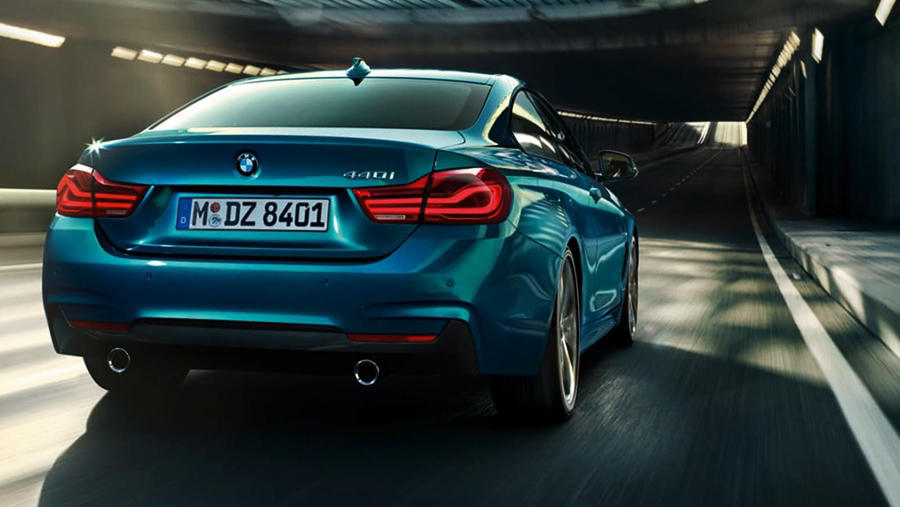 2019 BMW 4 Series rear