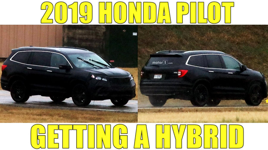 2019 honda pilot gets new face hybrid price release. Black Bedroom Furniture Sets. Home Design Ideas