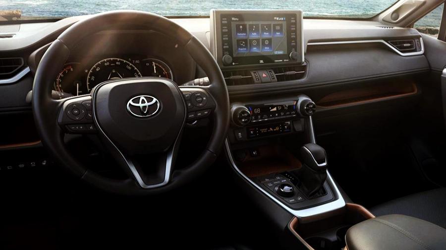 2019 Toyota RAV4 adventure interior