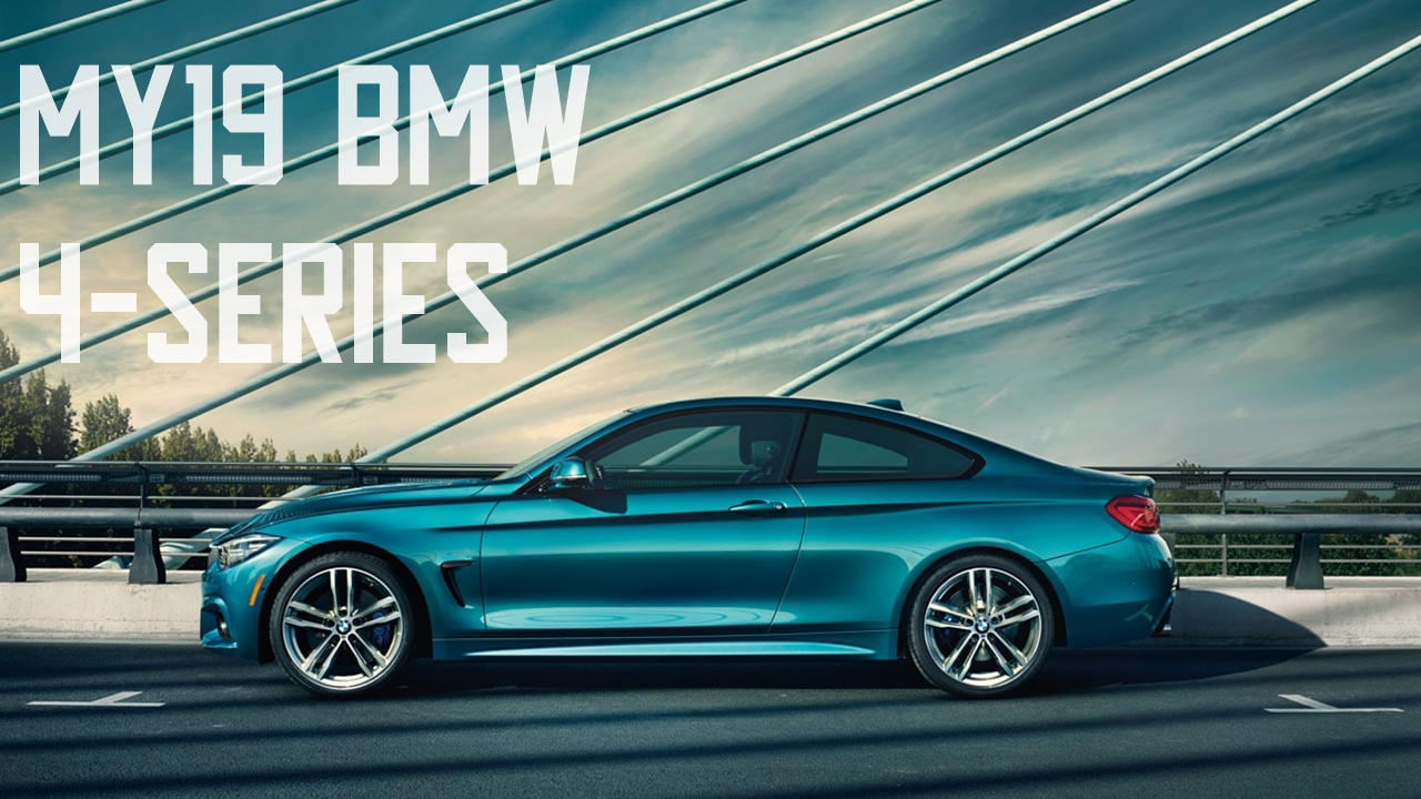 BMW 4 Series 2019 blue