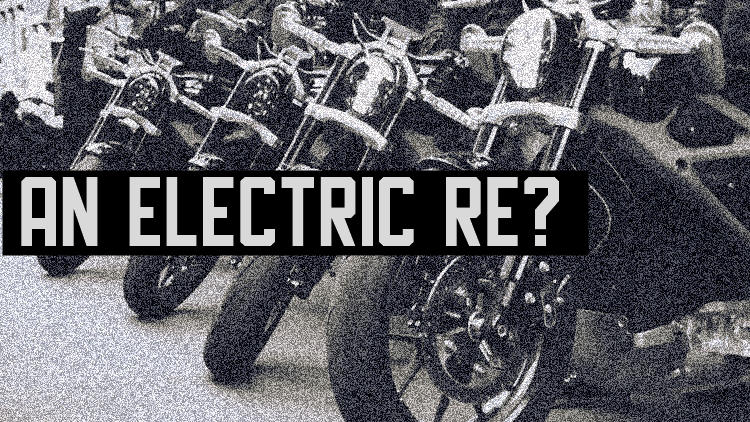Electric Royal Enfield bike