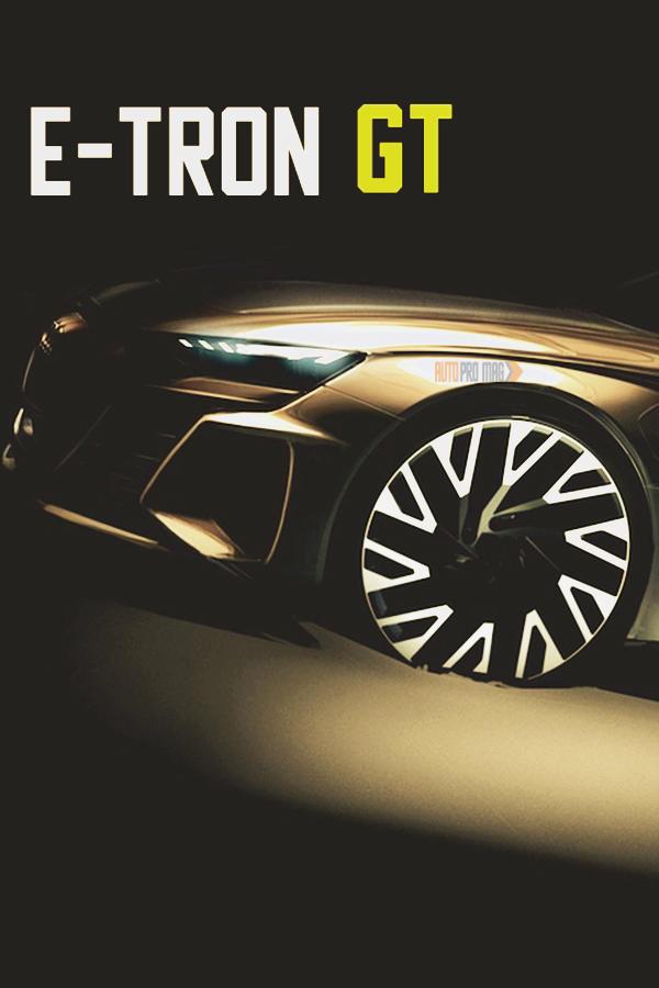 New Audi E-Tron GT