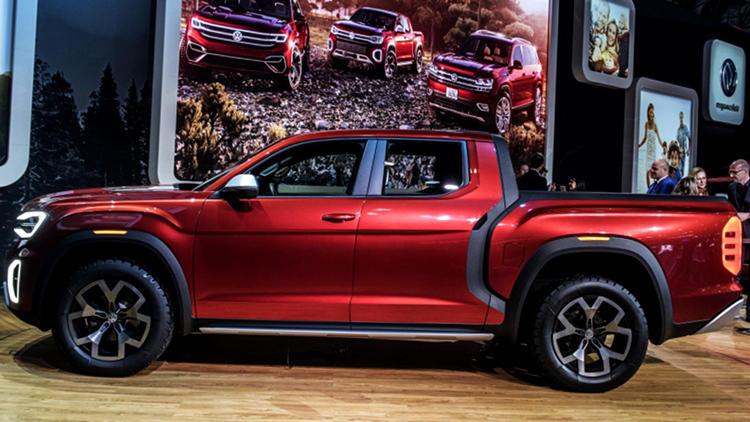 New Volkswagen Tanoak Atlas truck
