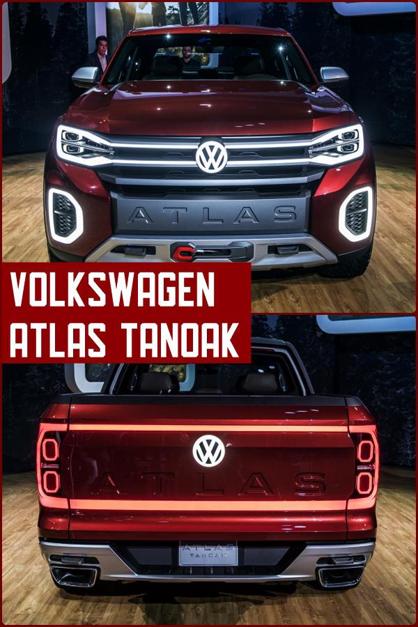 Volkswagen Atlas Tanoak pickup truck