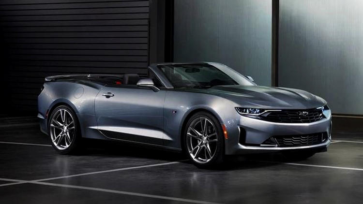 2019 Chevrolet Camaro RS grey cabrio