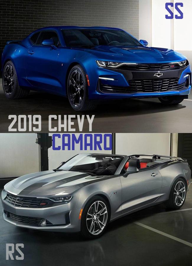 2019 Chevy Camaro release