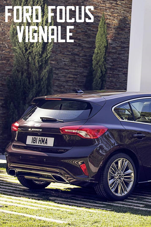 Ford Focus Vignale luxury hatch rear