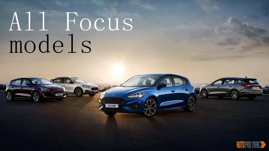 2019 Ford Focus ST, RS, Active and other variants