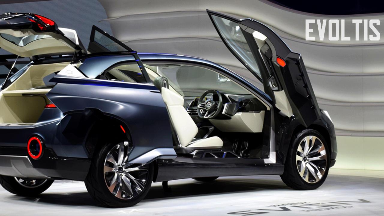 Subaru Evoltis hybrid crossover PHEV