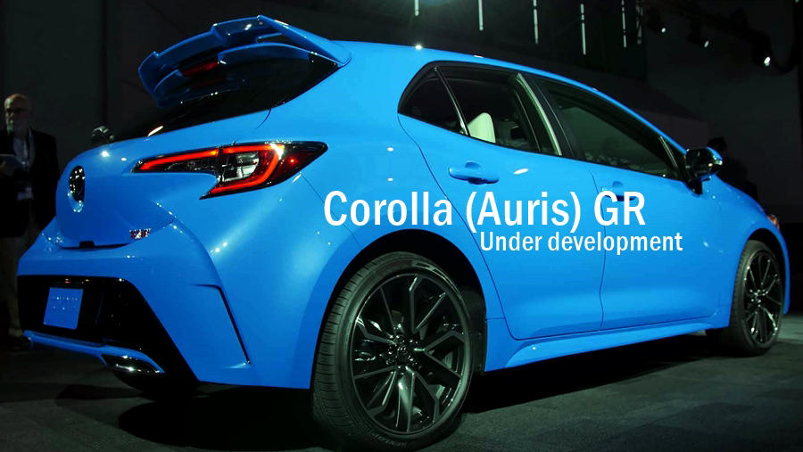 Toyota Corolla Gr Auris Gr Hot Hatch Price Release