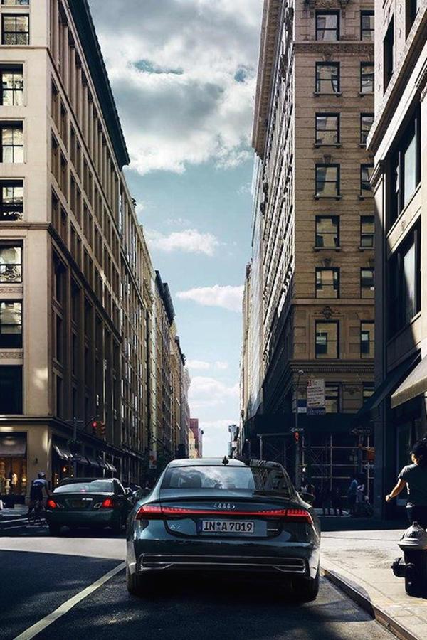 2019 Audi A7 ride