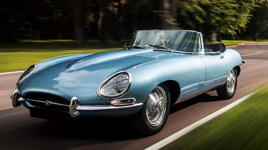 Electric Jaguar E-Type Concept Zero