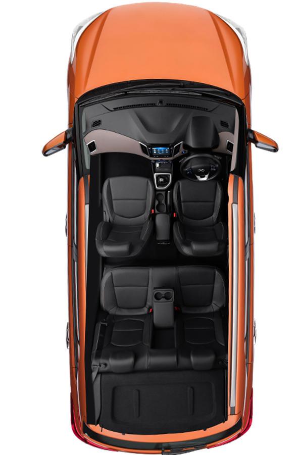 Hyundai Creta SX interior