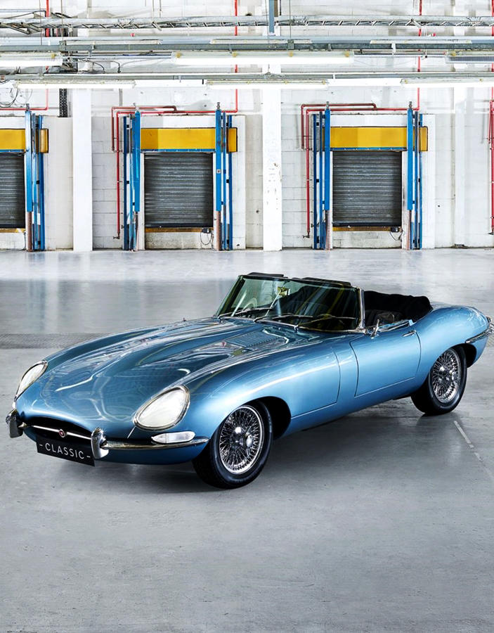 Jaguar E-Type Zero 2020