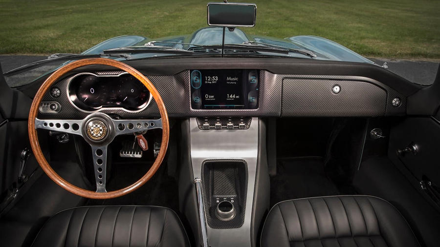 Modern Electric E type Zero interior