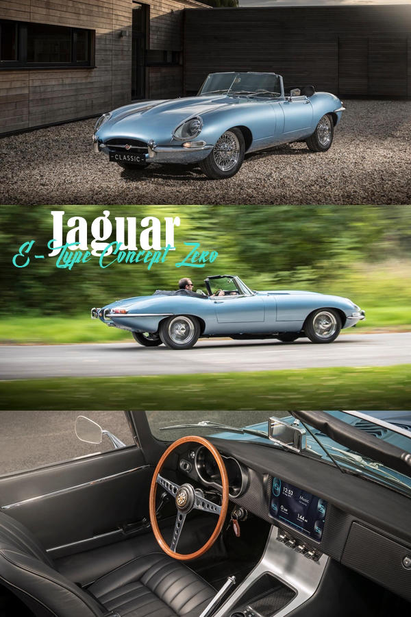 The Jaguar E Type Cncept Zero