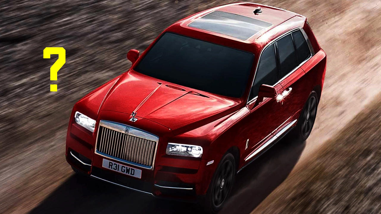 Why the Cullinan is not a Rolls Royce