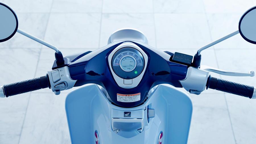 2019 Honda Supercub digital instrument