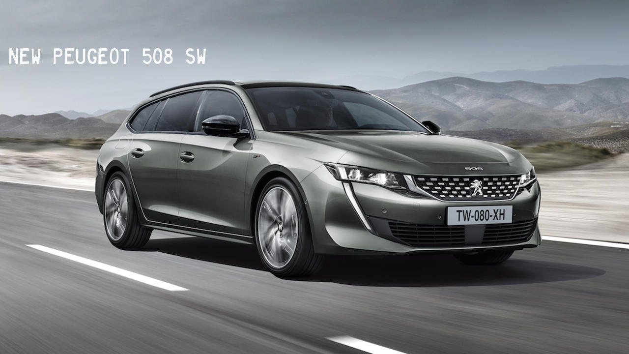 2019 Peugeot 508 SW Touring and hybrid