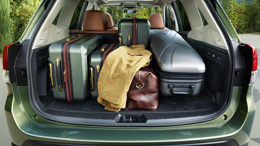 2019 Subaru Forester rear boot capacity
